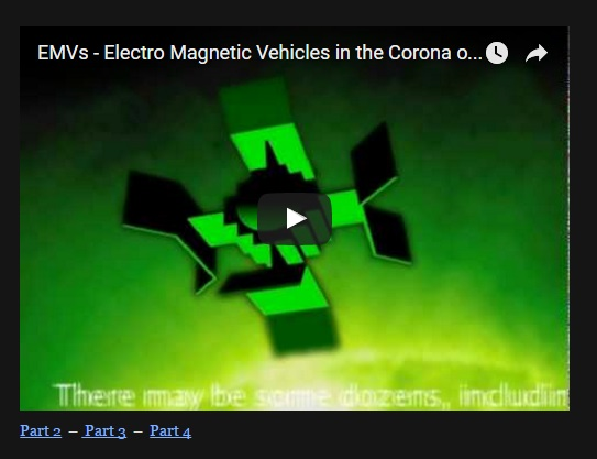 EMVs – Electro Magnetic Vehicles in the Corona [KO-l2JCPfy8] (5∶18)